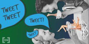 Twitter TRON TRX